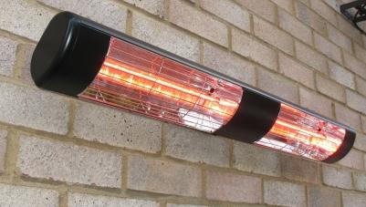 IR šildytuvas HLW30 juodas 3,0 kW