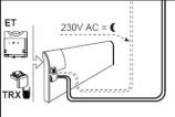 Temperatūros mažinimo įrenginys GLAMOX heating TRX-5/230